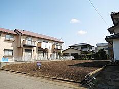 つくば市小野川、閑静な住宅街の整形地です