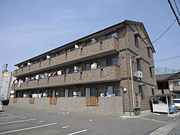 山口県下関市形山みどり町の賃貸アパートの外観