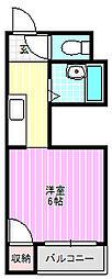 ラ・ルミエール[2階]の間取り