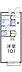 間取り,1K,面積19.87m2,賃料3.5万円,JR播但線 京口駅 徒歩6分,,兵庫県姫路市城見町14