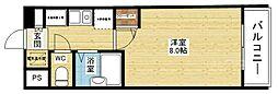 K緑地[5階]の間取り