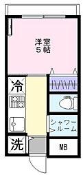 サンライズ新宿(リノベーション物件)[303号室号室]の間取り