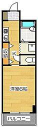 フェニックス二日市第一ビルディング[402号室]の間取り