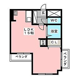 YK50[2階]の間取り