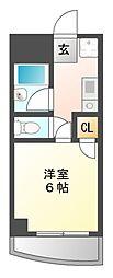 ドルフ亀島 I[2階]の間取り