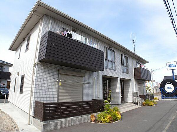 兵庫県明石市林崎町2丁目の賃貸アパートの外観