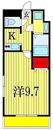 金太郎ヒルズ18[4階]の間取り