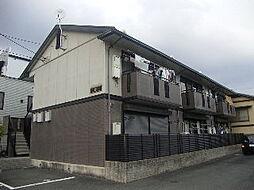 京都府京都市北区西賀茂大栗町の賃貸アパートの外観