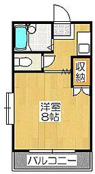 メゾン・グリンピア[3A号室]の間取り