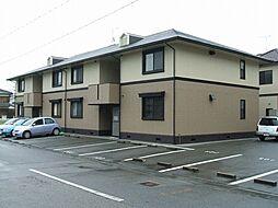兵庫県姫路市飾磨区今在家3の賃貸アパートの外観