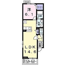 サニーハウス緑[2階]の間取り