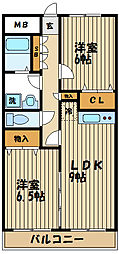 第3コーポレイトハウスセンチュリー[2階]の間取り