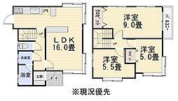 [一戸建] 石川県金沢市寺地1丁目 の賃貸【/】の間取り