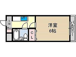林泉第二ビル[2階]の間取り