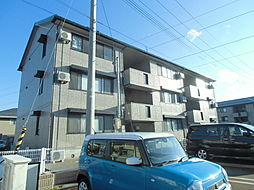 リビングタウン新潟A[3階]の外観