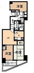 ポピーヒルズ永田[4階]の間取り