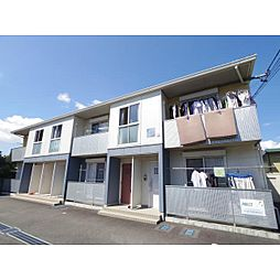 静岡県静岡市清水区中之郷の賃貸アパートの外観