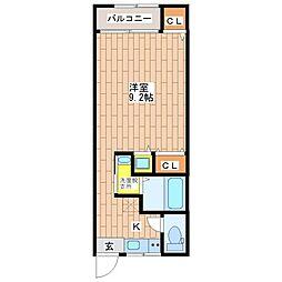 オーナーズマンション南巽[405号室]の間取り