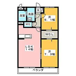 Casa Felice[3階]の間取り