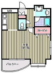 アンソレイユISHII[501号室]の間取り