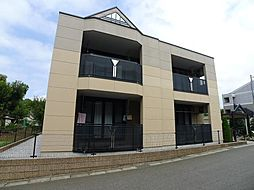 千葉県流山市駒木の賃貸アパートの外観