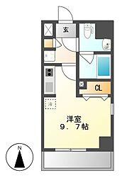 GRAN 30 NAGOYA(グランサーティナゴヤ)[9階]の間取り