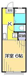 サンライフK[2階]の間取り