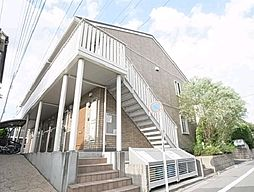 東京都足立区六町2丁目の賃貸アパートの外観
