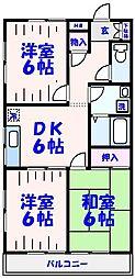 KZ本八幡ステートメント[101号室]の間取り