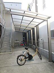 神奈川県川崎市高津区蟹ケ谷の賃貸アパートの外観