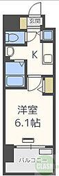 ララプレイス新大阪シエスタ 11階1Kの間取り