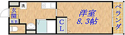 リーブルひまわり[3階]の間取り