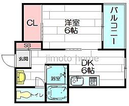 パールハウス[1階]の間取り