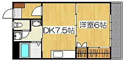 クレインポート[3階]の間取り