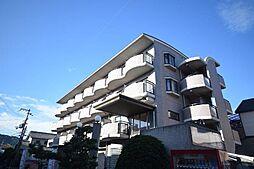 大阪府柏原市旭ケ丘3丁目の賃貸マンションの外観