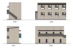 一番2丁目III(仮称)[2階]の外観