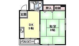 京峰ビル[203号室号室]の間取り