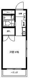 三田1092[305号室号室]の間取り