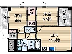 Casa Bonita[1階]の間取り
