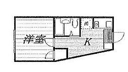 TKマンション[101号室]の間取り