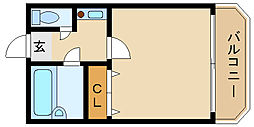 ステラハウス17[1階]の間取り