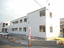 埼玉県東松山市小松原町の賃貸アパートの外観