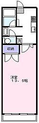 新所沢マンション[6階]の間取り