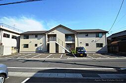 福岡県北九州市八幡東区石坪町の賃貸アパートの外観