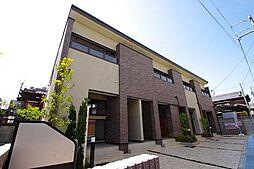 阪急千里線 北千里駅 バス7分 小野原南下車 徒歩6分の賃貸アパート