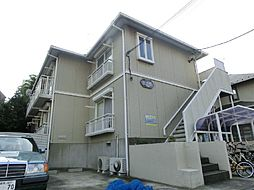 東京都新宿区中落合の賃貸アパートの外観