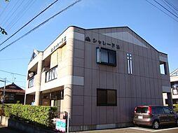 静岡県三島市平田の賃貸マンションの外観