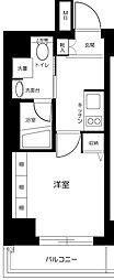 東京都中央区勝どき3丁目の賃貸マンションの間取り