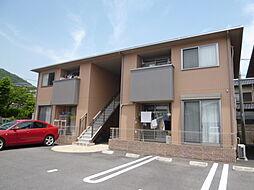 岡山県倉敷市児島柳田町の賃貸アパートの外観