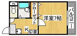 カーサ忍ヶ丘[1階]の間取り